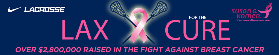 2014 Lax for the cure logo